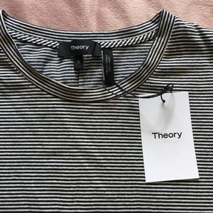 Theory tee shirt dress small strapped new